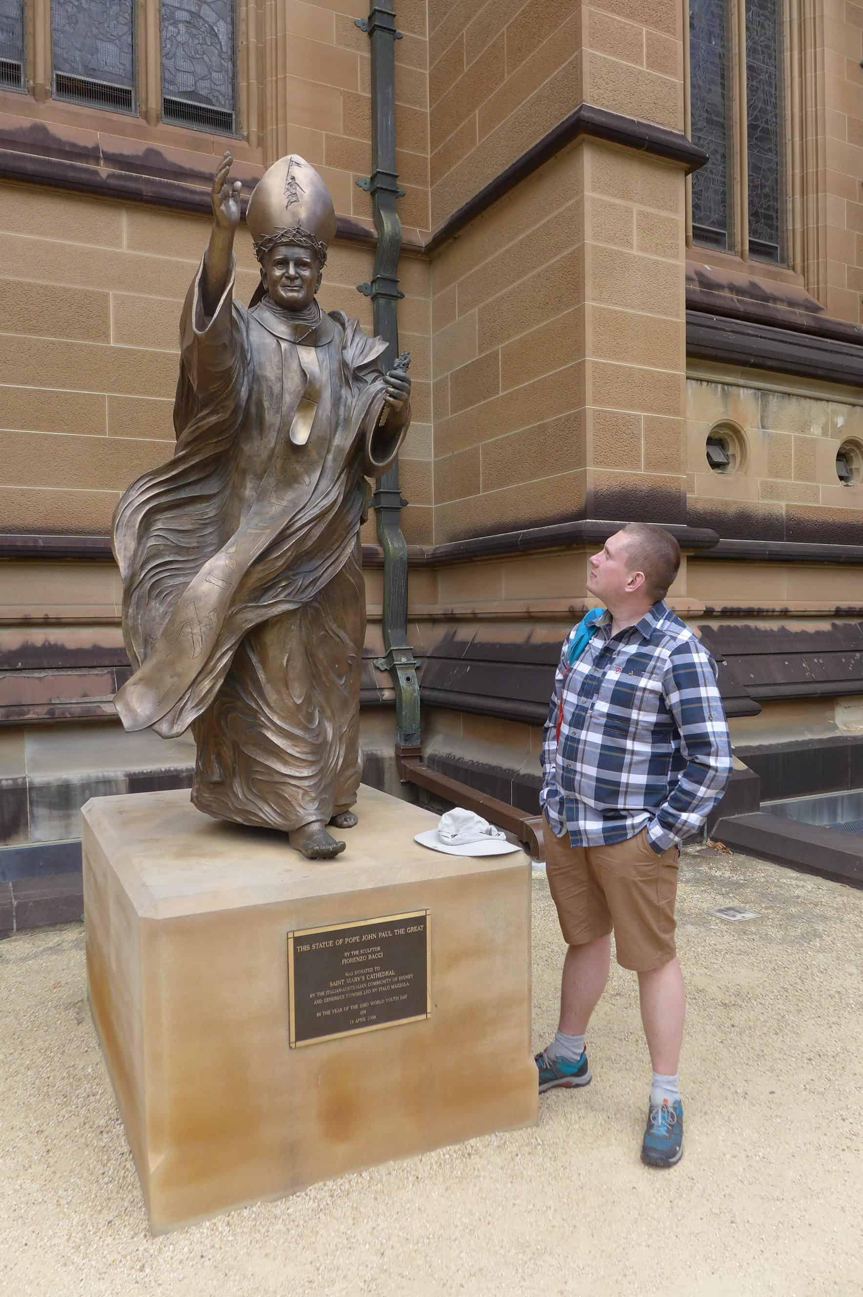 Pomnik Jana Pawła II w Sydney