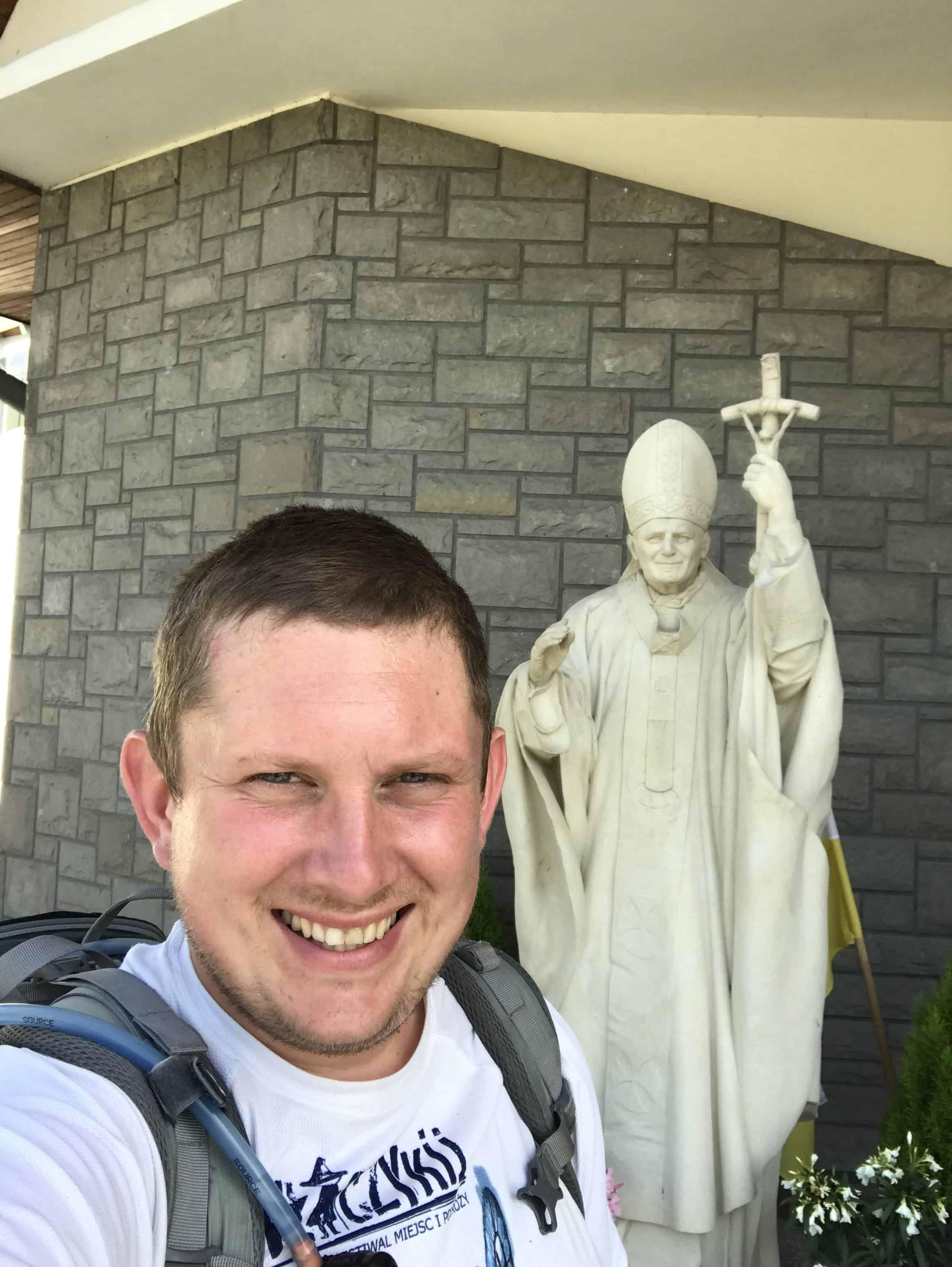 Pomniki Jana Pawła II Rytro