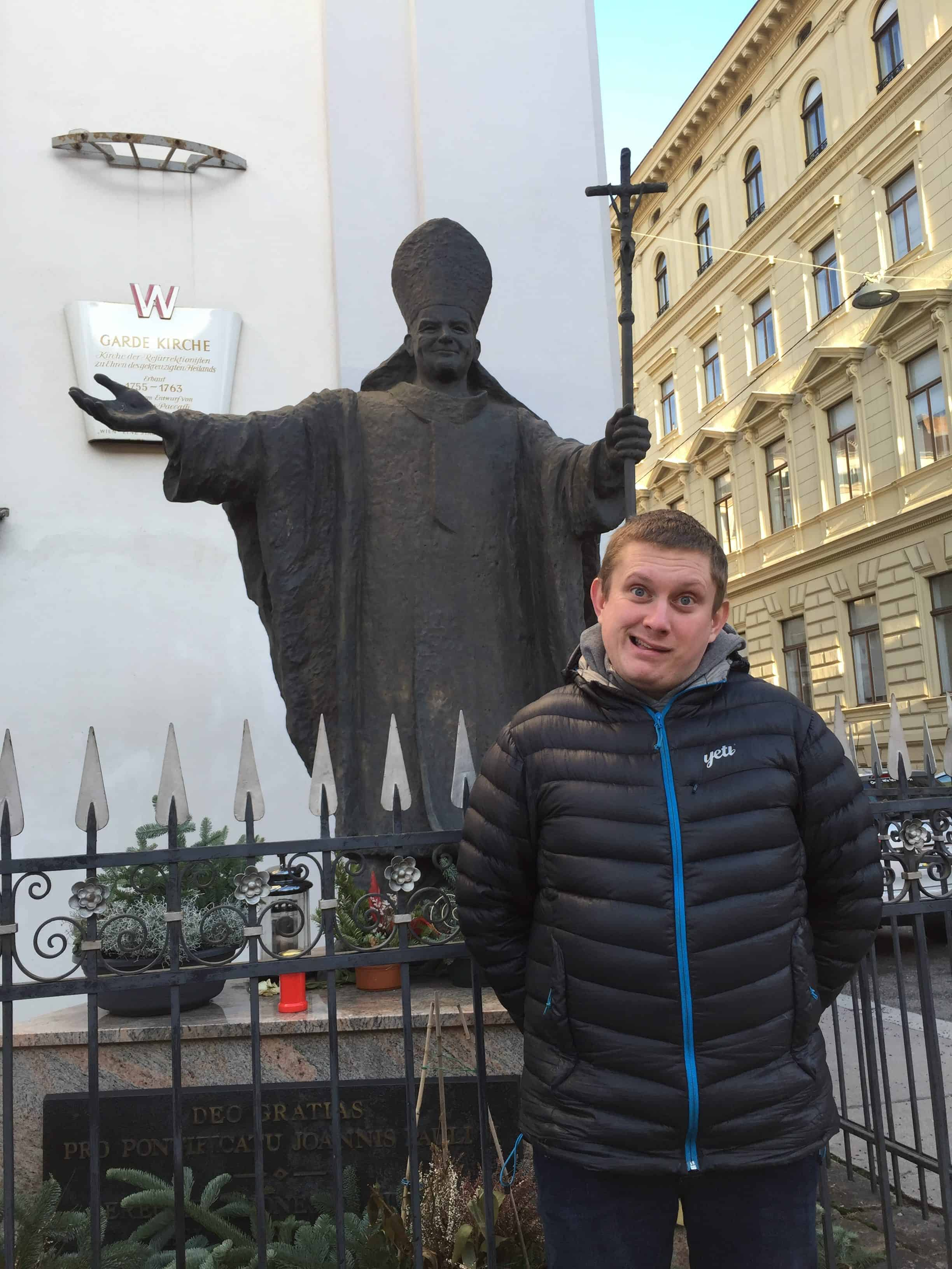 Pomnik Jana Pawła II Wiedeń