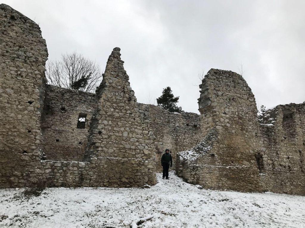 Bydlin, ruiny zamku