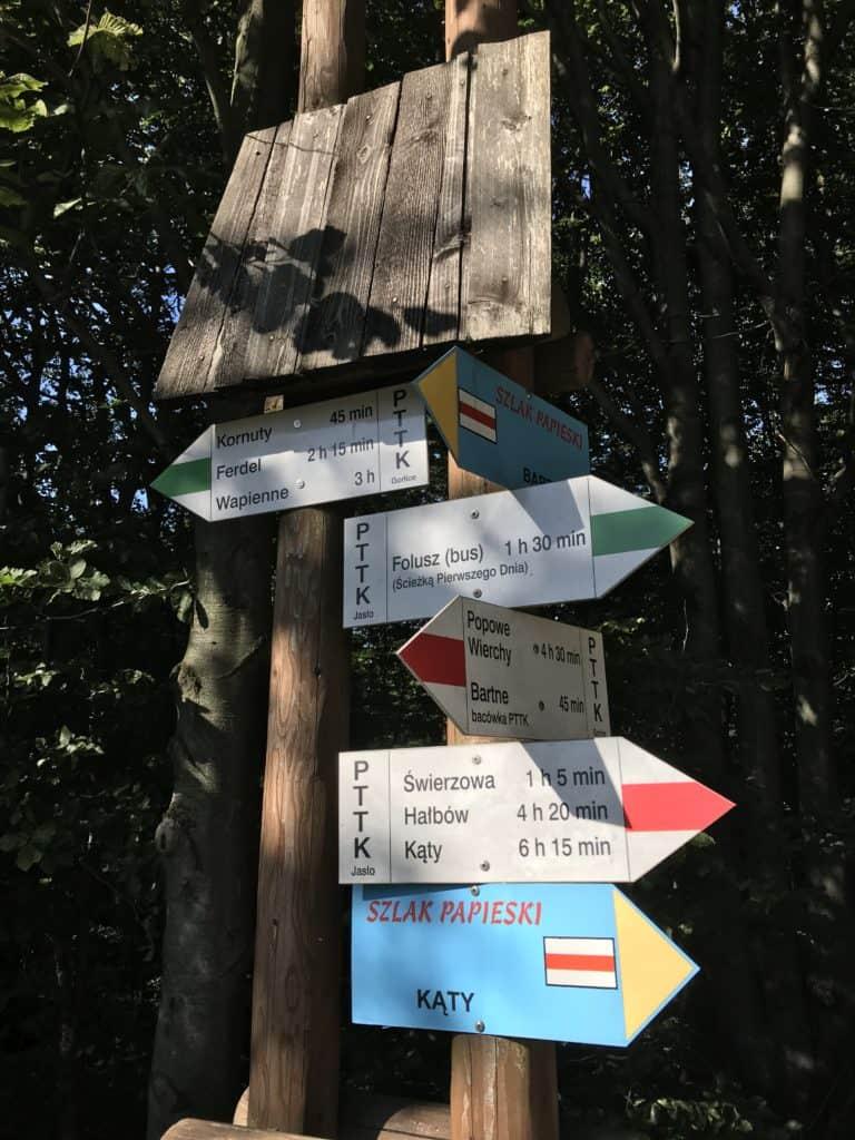 Główny Szlak Beskidzki etapy