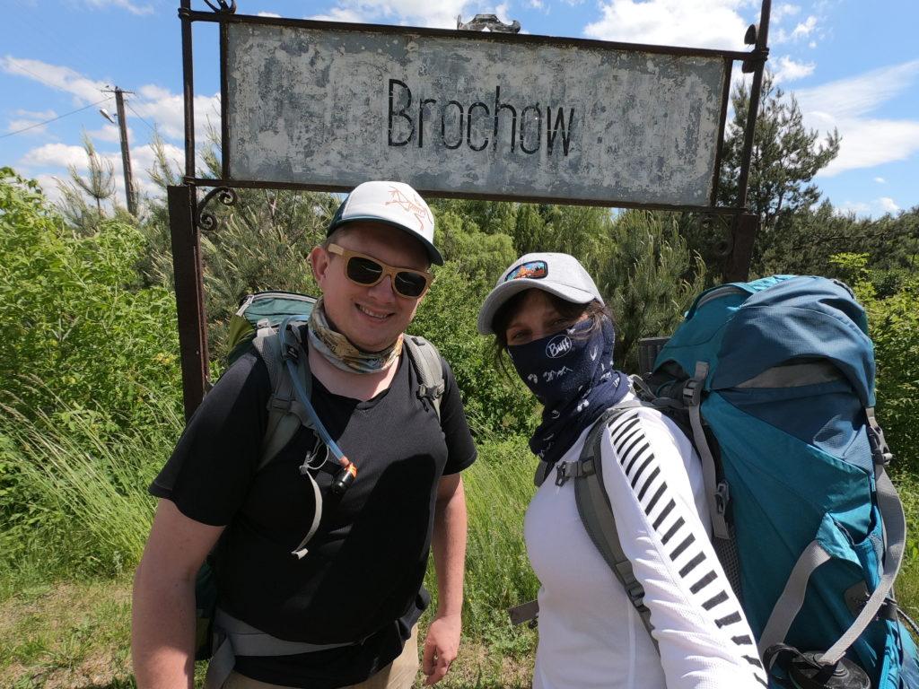 Główny Szlak Puszczy Kampinoskiej - Brochów