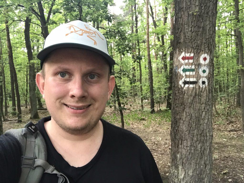 Główny Szlak Puszczy Kampinoskiej Dziekanów Leśny